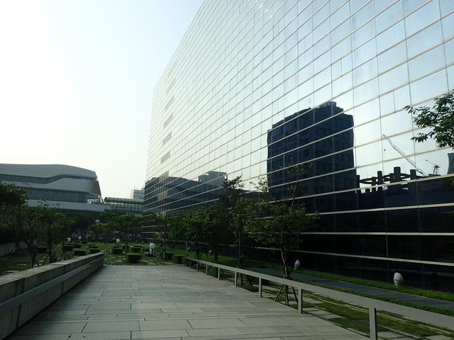 P5127444.JPG - 台中  新市政大樓  晨光