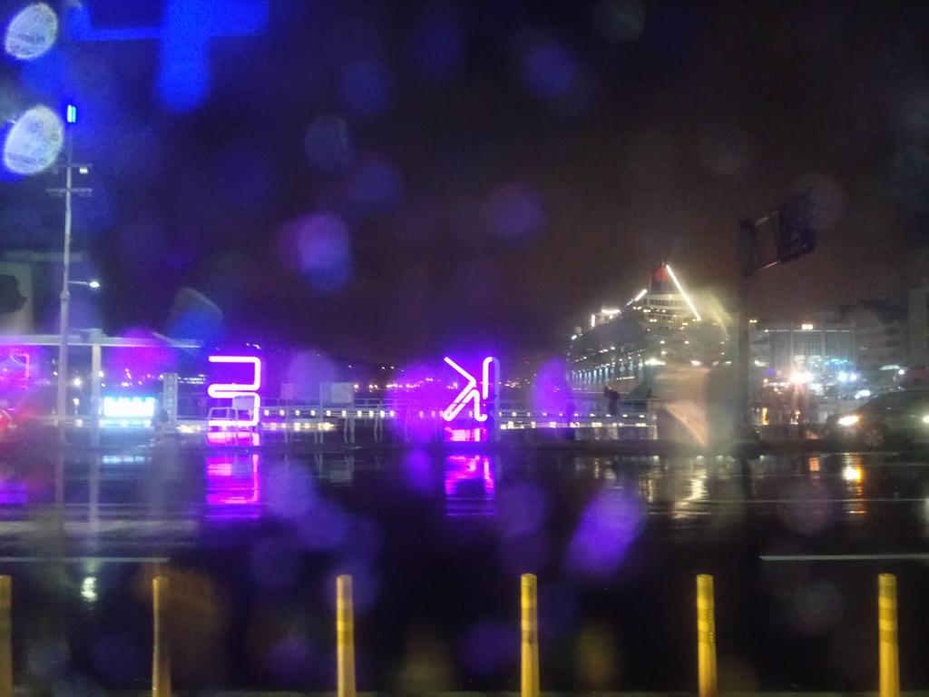 基隆雨夜: