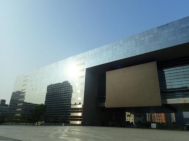 P5127469.JPG - 台中  新市政大樓  晨光