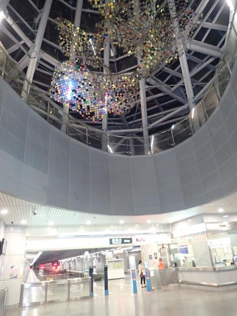 PA049416.JPG - 基隆  新火車站 夜景色