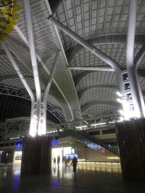 DSC_8862.JPG - 台中新火車站  夜色