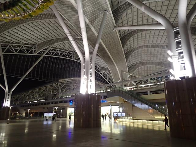 P4092830.JPG - 台中新火車站  夜色