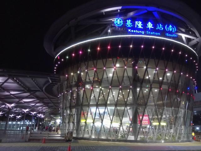DSC_8081.JPG - 基隆  新火車站 夜景色