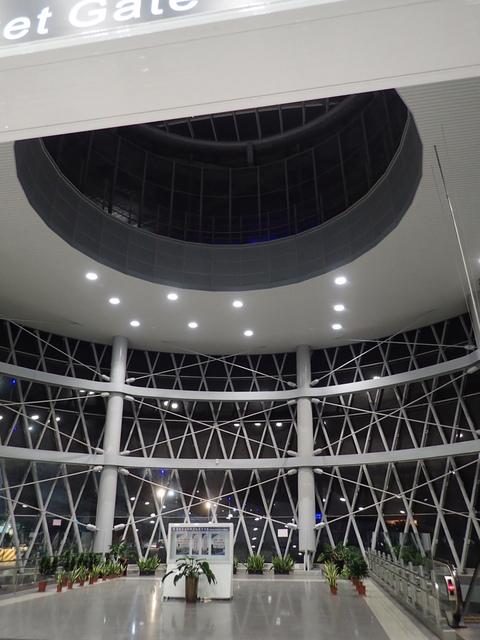 P9258618.JPG - 基隆  新火車站 夜景色