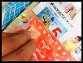 2015正咩連連看賀卡:用海綿沾顏料填滿空洞