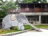 20140720南投中寮清水國小、龍鳳瀑布:我愛的大象溜滑梯