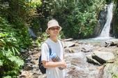 20140713南投中坑瀑布、九份二山:到後面越來越多人
