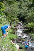 20140713南投中坑瀑布、九份二山:人超多