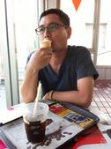 20140416魚兒生日慶豐牛排:吃冰淇淋