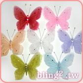 晶鑽飾品—造型好搭檔:造型雪紗蝴蝶