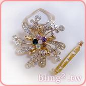 晶鑽飾品—絲巾扣:晶鑽飾品—絲巾扣