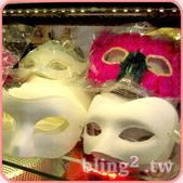 晶鑽飾品—造型好搭檔:面具眼罩多款