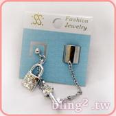 晶鑽飾品—耳骨耳環:晶鑽飾品—耳骨耳環