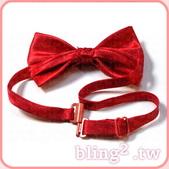 晶鑽飾品—造型好搭檔:晶鑽飾品Bling2shop—彩色領結
