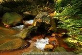 天母磺溪水石之美:需仁指點的新手法----變焦攝影