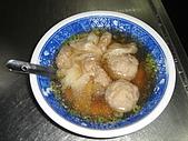 大麵章乾麵:餛飩丸湯