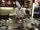 980710饗宴鐵板燒:紅黑喉魚...