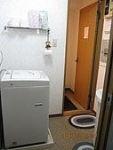 2008東京跨年:洗衣間跟洗手台
