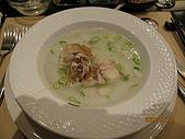 980710饗宴鐵板燒:我的鮮魚湯..
