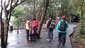 長腳登山隊的快樂行腳之翠山步道+碧溪步道+大崙頭尾親山步道:來到步道的觀景平台休息喝喝水囉…