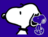 圖庫-史奴比Snoopy:史奴比-引擎蓋-三色大頭-有底色大頭-深藍色車.jpg