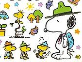 圖庫-史奴比Snoopy:史奴比與恰客去旅行