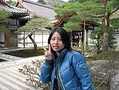20080404日本關西櫻花滿開遊:銀格寺--庭園造景