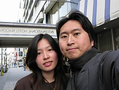 20080404日本關西櫻花滿開遊:第二天從飯店出來