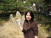 20080404日本關西櫻花滿開遊:銀格寺一隅