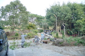 法師生活:25580117法師合力協助整理妙覺園樹木.JPG