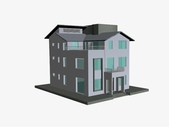 作品賞析:建築立面-3D草模