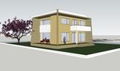 作品賞析:自地自建案--農舍A型立面