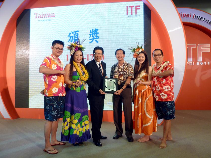 2011-台北國際旅展-夏威夷舞(呼拉草裙舞):www.hulataipei.com