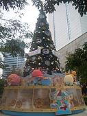 台北國際旅展 ITF 2007 2009:2007場~行經信義計畫區~先拍張X'mas tree