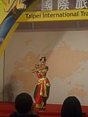台北國際旅展 ITF 2007 2009:印度舞不簡單! 要轉眼睛 要練手勢 還要練表情練yoga... 強!