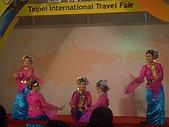 台北國際旅展 ITF 2007 2009:接著是汶萊的舞者表演