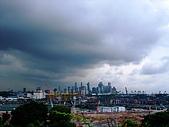 嶄新銳變的新加坡二度遊:北眺新加坡本島~貨櫃碼頭&市區高樓