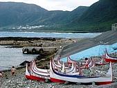 蘭嶼之風景人文篇:東清部落的拼板舟~ 當地人說 這些拼板舟不下海 主要是給觀光客拍照用的