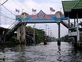 有認真的曼谷遊~DAY 4 5 6 :這河道看起來像淹水的中南部?! 同時 也是電影'無聲火'的拍攝地