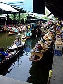 有認真的曼谷遊~DAY 4 5 6 :水上路邊攤~ 岸邊也是一整排商店