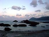 蘭嶼之風景人文篇:六點多的太平洋海邊