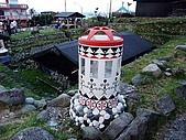 蘭嶼之風景人文篇:地下屋旁還可以看見這蘭嶼特色路燈