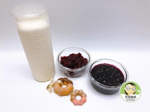 DIY簡單的蔓越莓與藍莓果醬