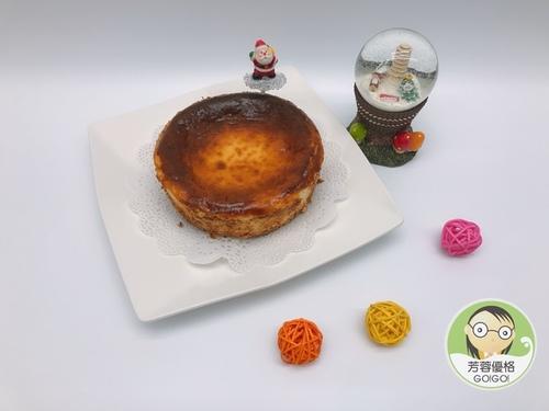 巴斯克優格乳酪蛋糕~聖誕節派對點心
