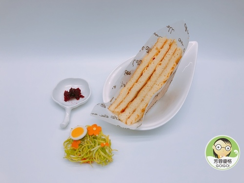 焦糖優格起司蛋糕三明治