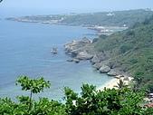 2008年四月的小琉球之旅:小琉球~遠眺蛤板灣(威尼斯海灘)