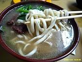 98.11.24 廖家牛肉麵:好吃的麵~很Q哦!!