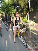 98.09.12 八里-淡水-漁人碼頭:騎腳踏車...