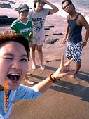 20319503/0922)) _ 海邊,八里:笑的很開懷噢:小姐