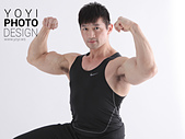 超人咖啡,廣告形象攝影:健身教練攝影